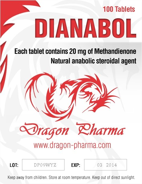 Buy online Dianabol 20 legal steroid